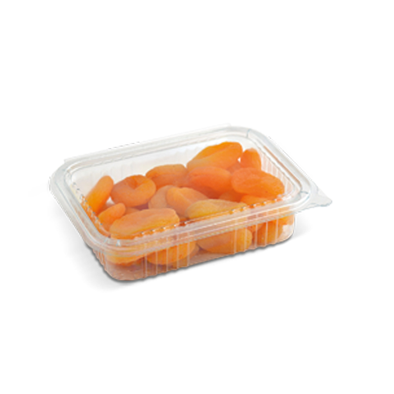 Dried Apricots PET- Rectangle with Lid 250 g - Usta Food Industry Agricultural