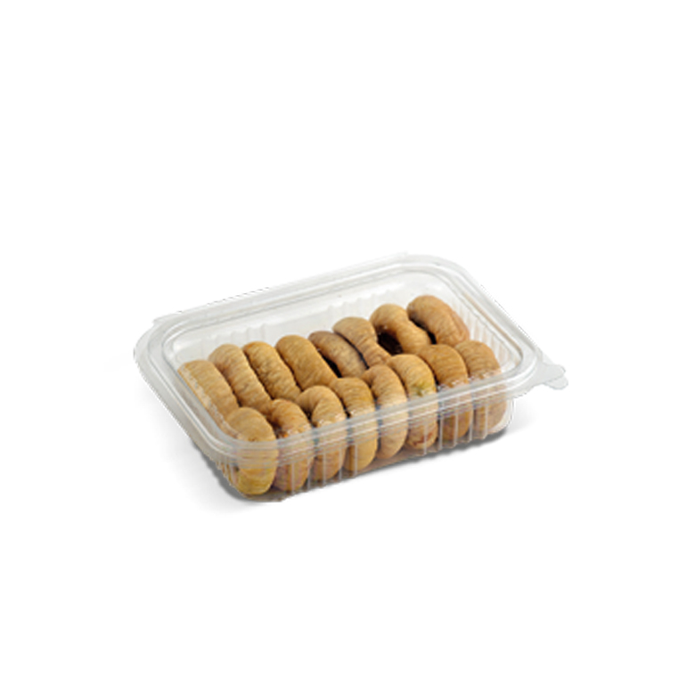 Lerida Dried Figs PET- Rectangle with Lid 250 g - Usta Food Industry Agricultural